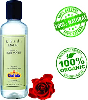 Khadi Mauri Herbal Skin Toner Rose Water (210 ml)
