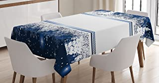 Best blue and white christmas tablecloth Reviews