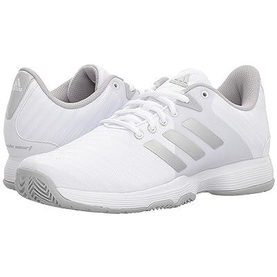 adidas Barricade Court (White/Silver/Grey Two) Women