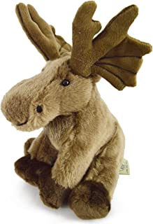 VIAHART Martin The Moose | 9 Inch Realistic Looking Stuffed Animal Plush | by Tiger Tale Toys