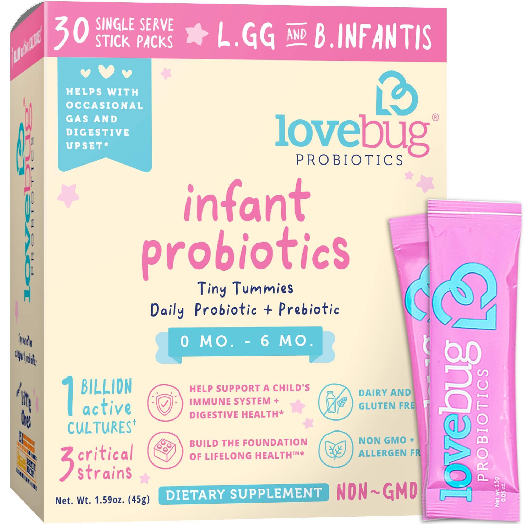 Lovebug Probiotic probiotics Intestinal Digestive
