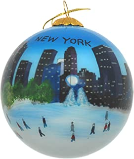 Best christmas ornaments hand painted inside Reviews