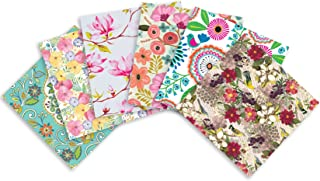 Jillson Roberts 24 Sheet-Count Premium Printed Tissue Paper Available in 3 Different Assortments, Fanciful Florals