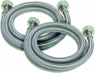 Watts 2PBSPW60-1212 SSHOSE5FT2PK washer hoses, 2-Pack