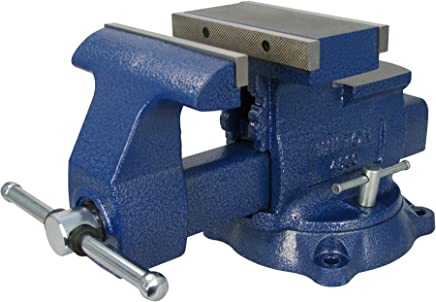 K/&N41 Jaws Table Bench Top Vise Vice Swivel Base with Anvil Clamp Size 2.5