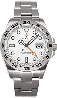 Explorer II Mechanical (Automatic) White Dial Mens Watch 216570 (Certified Pre-Owned)