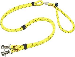 ドッグ・ギア ザイルリードタイプW ロープ径10mm 全長80cm イエロー 「大切な愛犬を迷子犬にしないためのリードです」