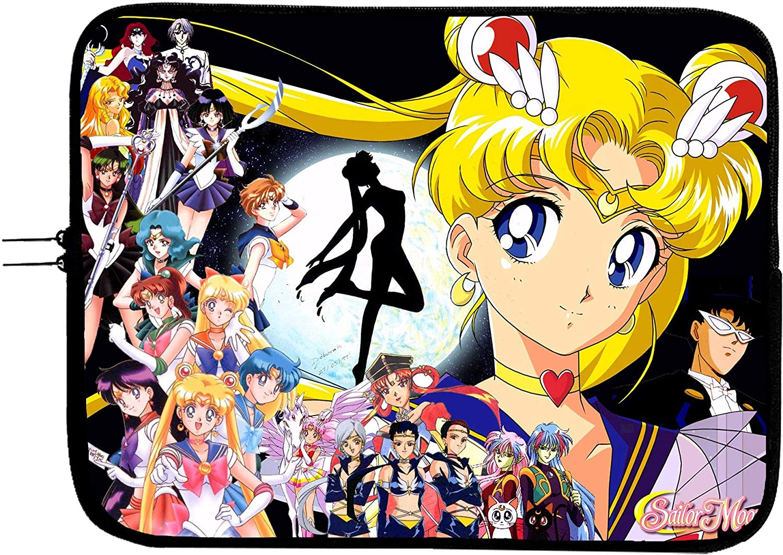 millenniumpaintingfl.com Laptop Bag Sailor Moon Tablet Briefcase ...