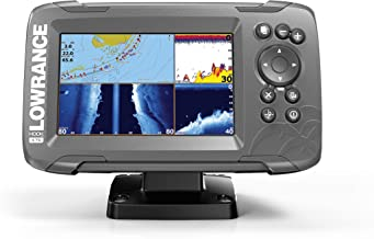 Lowrance HOOK2 5 - 5-inch Fish Finder with TripleShot Transducer and US / Canada Navionics+ Map Card …