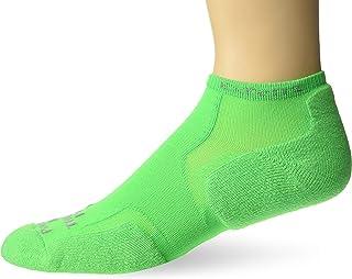Thorlos Experia XCCU Thin Cushion Running Low Cut Socks, Electric Green, Medium