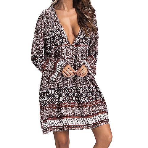 YTJH Robes Femme de Soirée Cocktail Cérémoinie Grande Taille pour Mariage Robes Longue Paillettes sans Manches Décontractées Robes au Maxi