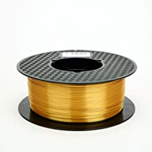 Silk Gold 3D Printer Filament PLA 1.75 mm 1 KG (2.2 LBS) Silky Shiny PLA Metal Gold Like CC3D ZHUOPU