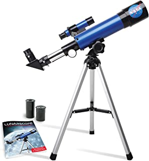 NASA Lunar Telescope for Kids – Capable of 90x Magnification, Includes Two Eyepieces,..
