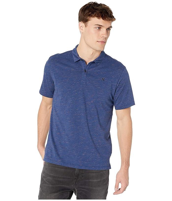 Hurley Dri-Fit Coronado Polo (Dark Blue Heather) Men
