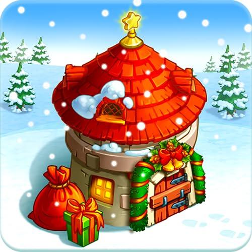 Neujahrsfarm des Weihnachtsmanns