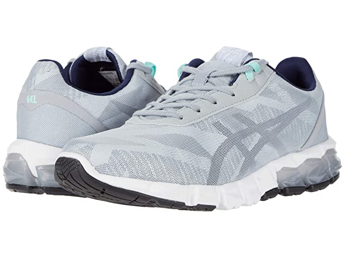 ASICS  GEL-Quantum 90 2 (Piedmont Grey/Peacoat) Womens Running Shoes