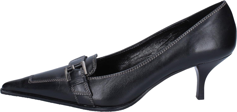 GOZZI EGO Pumps-shoes Womens Leather Black 6 US