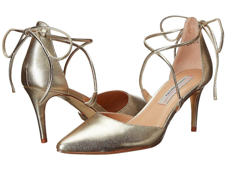 Kristin Cavallari Opel Lace-Up Pump (Light Gold) High Heels