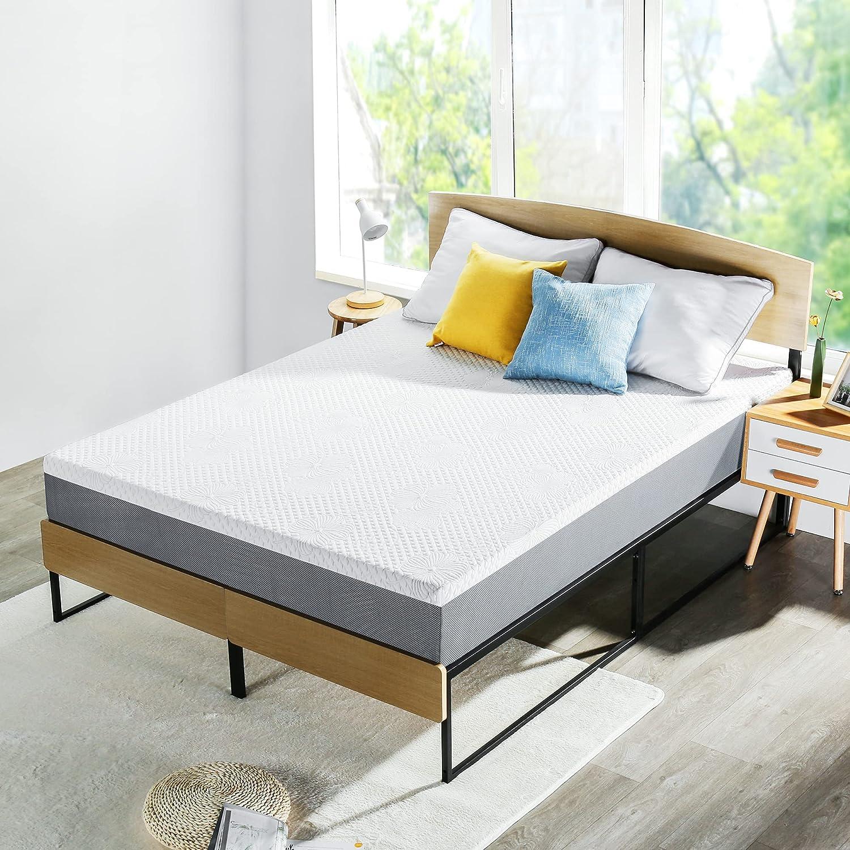 PrimaSleep 10 SALENEW very popular! Inch mart Gel Infused Superior Foam Memory high-Density