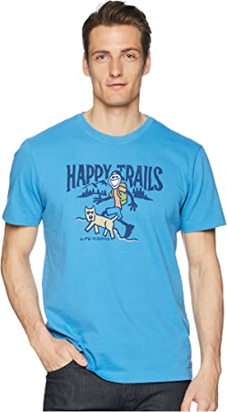 Happy Trails Crusher Tee