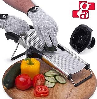 Best adjustable vegetable slicer Reviews