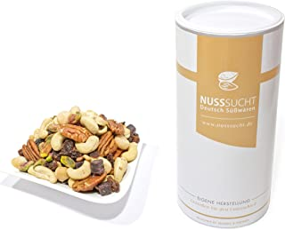 Luxe Notenmix | Studentenhaver | cashewnoten, macadamia's, pecannoten, pistachenoten, rozijnen, acai-blokjes |notenmengse...