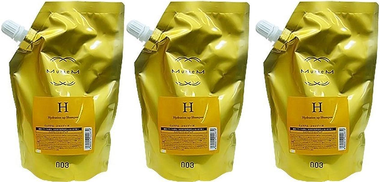 水曜日市場問い合わせる【X3個セット】 ナンバースリー ミュリアム ゴールド シャンプー H 500ml 詰替え用