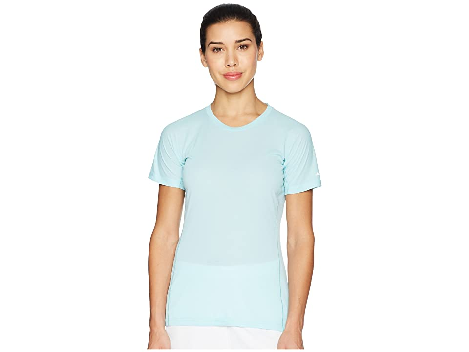 Image of adidas Outdoor Agravic Parley Tee (Blue Spirit) Women's T Shirt