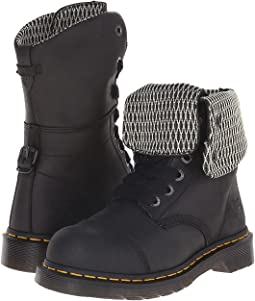 6031dc03be9fd Dr martens persephone 6 eye padded collar boot