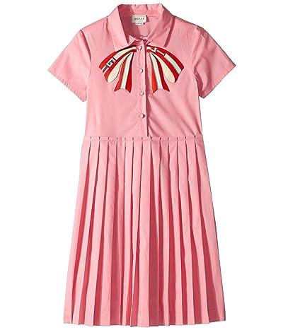 Gucci Kids Bow Dress 542961ZB365 (Little Kids/Big Kids) (Petal Pink) Girl
