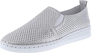 حذاء نسائي من Bernie Mev سهل الارتداء، فضي، مقاس 7. 0