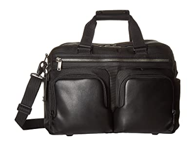 Tumi Alpha Bravo Hunter Satchel (Black) Duffel Bags
