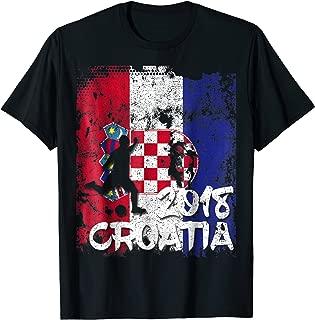 Croatia Flag Soccer Cup Jersey 2018 Fan T Shirt