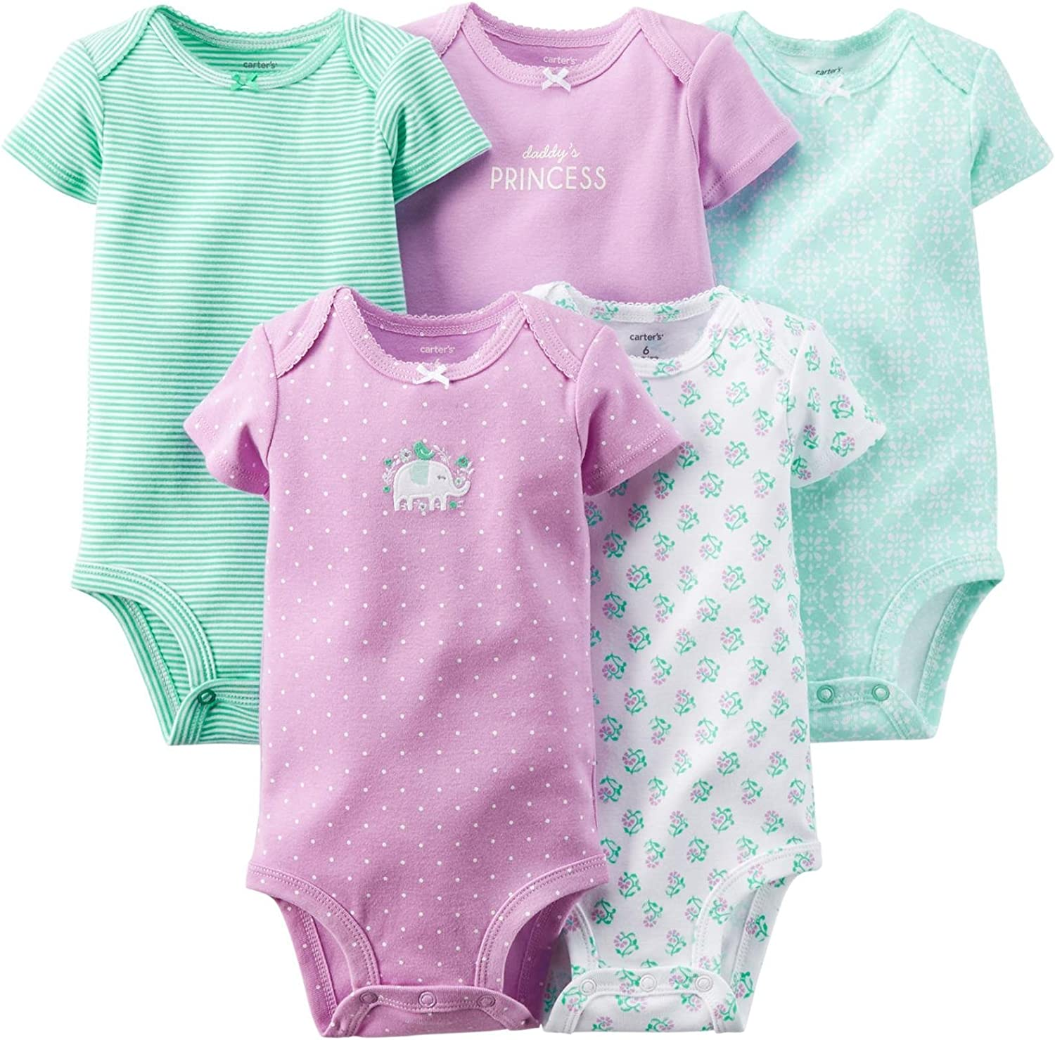 Girls in bodysuits pics Amazon Com Carter S Baby Girls Bodysuits Baby Clothing Shoes Jewelry