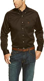 ARIAT Men's Solid Twill Shirt