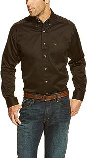 Men's Solid Twill Shirt