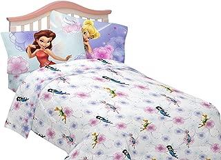 Disney Fairies Floral Frolic Sheet Set Twin