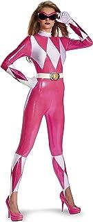 Disfraz de Power Rangers rosa sexy para mujer S