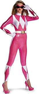 Sabans Mighty Morphin Power Rangers Pink Ranger Sassy Bodysuit Costume