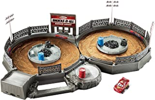 Disney Pixar Cars Mini Racers Crank & Crash Derby Playset