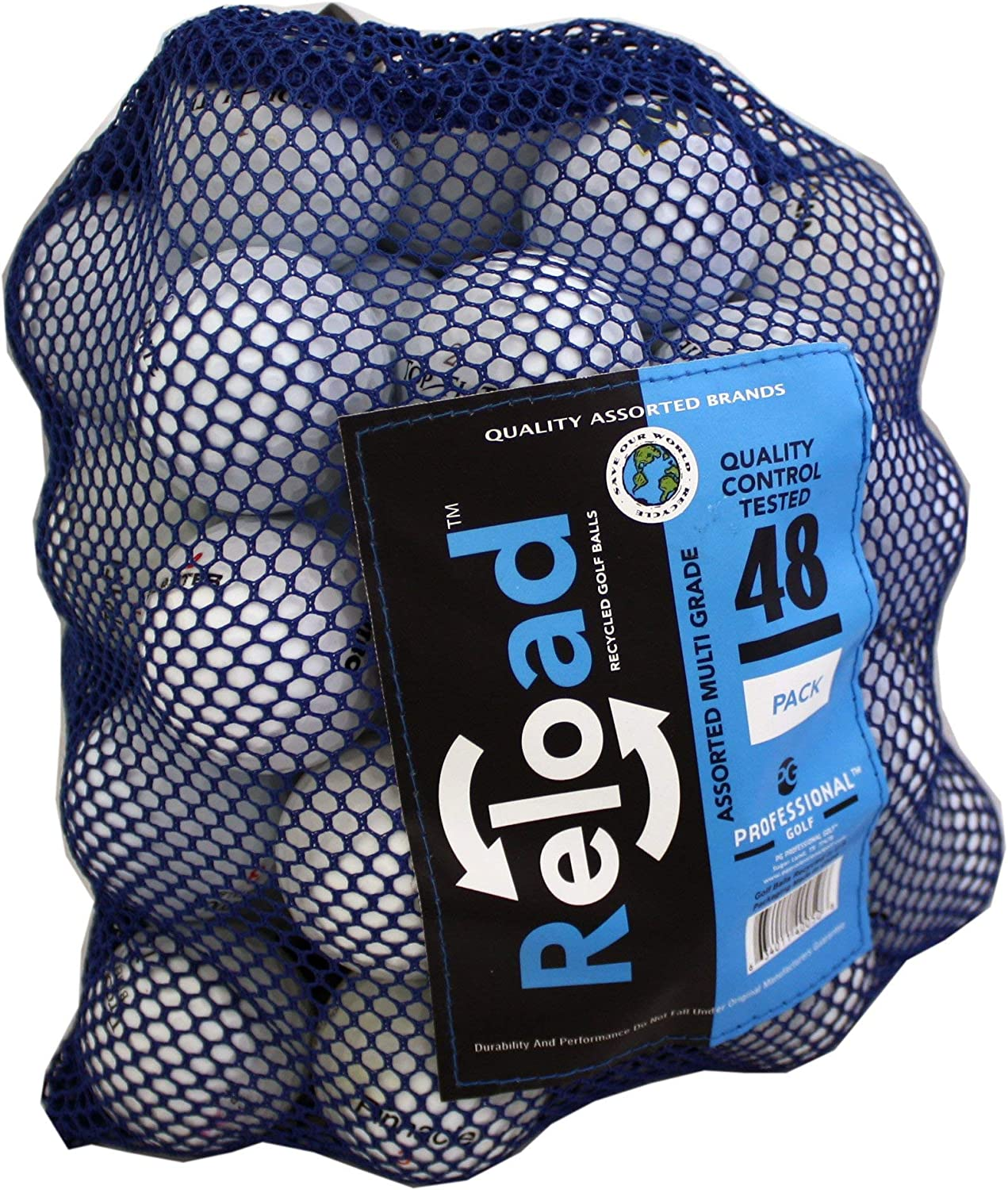 Clearance SALE Limited time Reload Recycled ! Super beauty product restock quality top! Golf Balls Bag Mesh 48 Ball