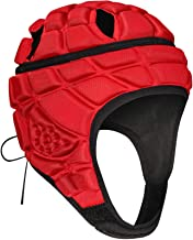 TUOYR Soft Shell Protective Headgear Kids' Boxing Protective Gear Rugby Martial Arts Headguards Padding Padded Helmet Reduce Child Impact Collision Protection Child's Head Ear Chin jaw