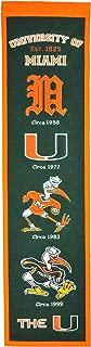 NCAA Miami Hurricanes Heritage Banner