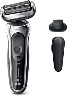 Braun Electric Razor for Men, Series 7 7020s 360 Flex Head Electric Shaver with Precision...