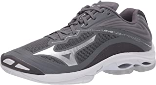 Mizuno Men's Wave Lightning Z6 Volleyball Shoe, Grey, 14 D US