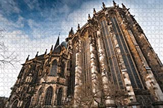 Jigsaw Puzzle for Adults Germany Aachen Cathedral Puzzle 1000 Piece Travel Souvenir