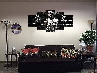 lebron james canvas poster