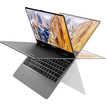 TECLAST F5 Pc Portatil 11.6 Pulgadas, 8GB RAM 256GB SSD 1920×1080 FHD IPS, Ordenador Portátil Intel Quad-Core, Pantalla Táctil 360°Convertible, Windows 10, WiFi&Bluetooth, Cuerpo Totalmente Metálico