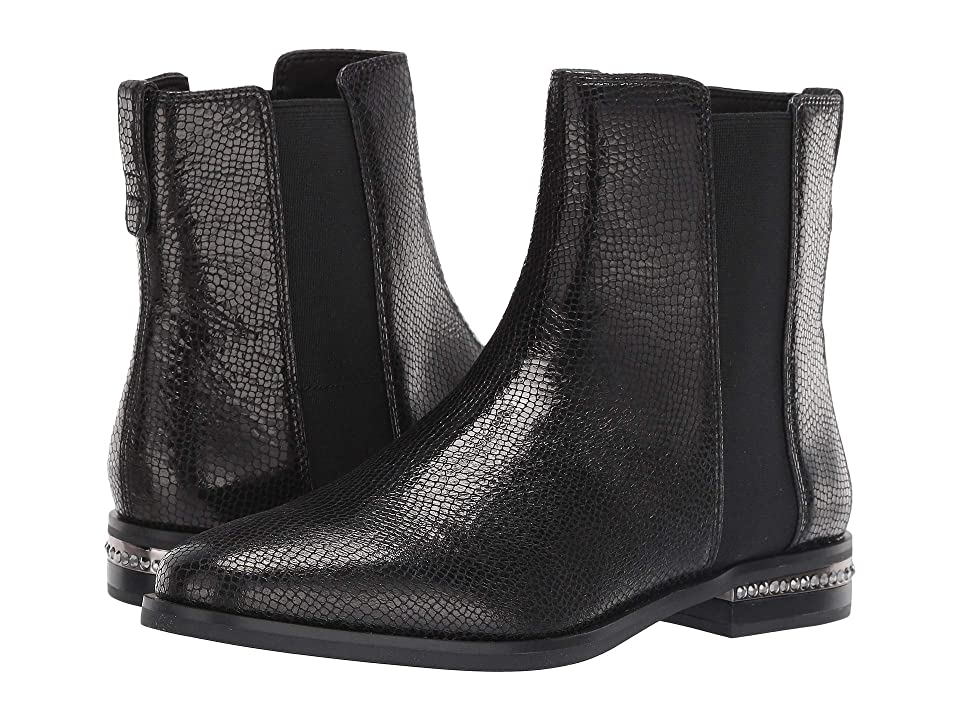 Franco Sarto Racine (Black Scorpion Metal Leather) Women