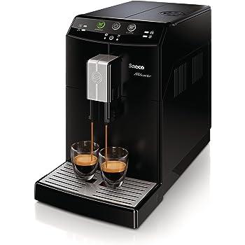 Saeco Minuto - Cafetera espresso automática, color negro: Amazon ...